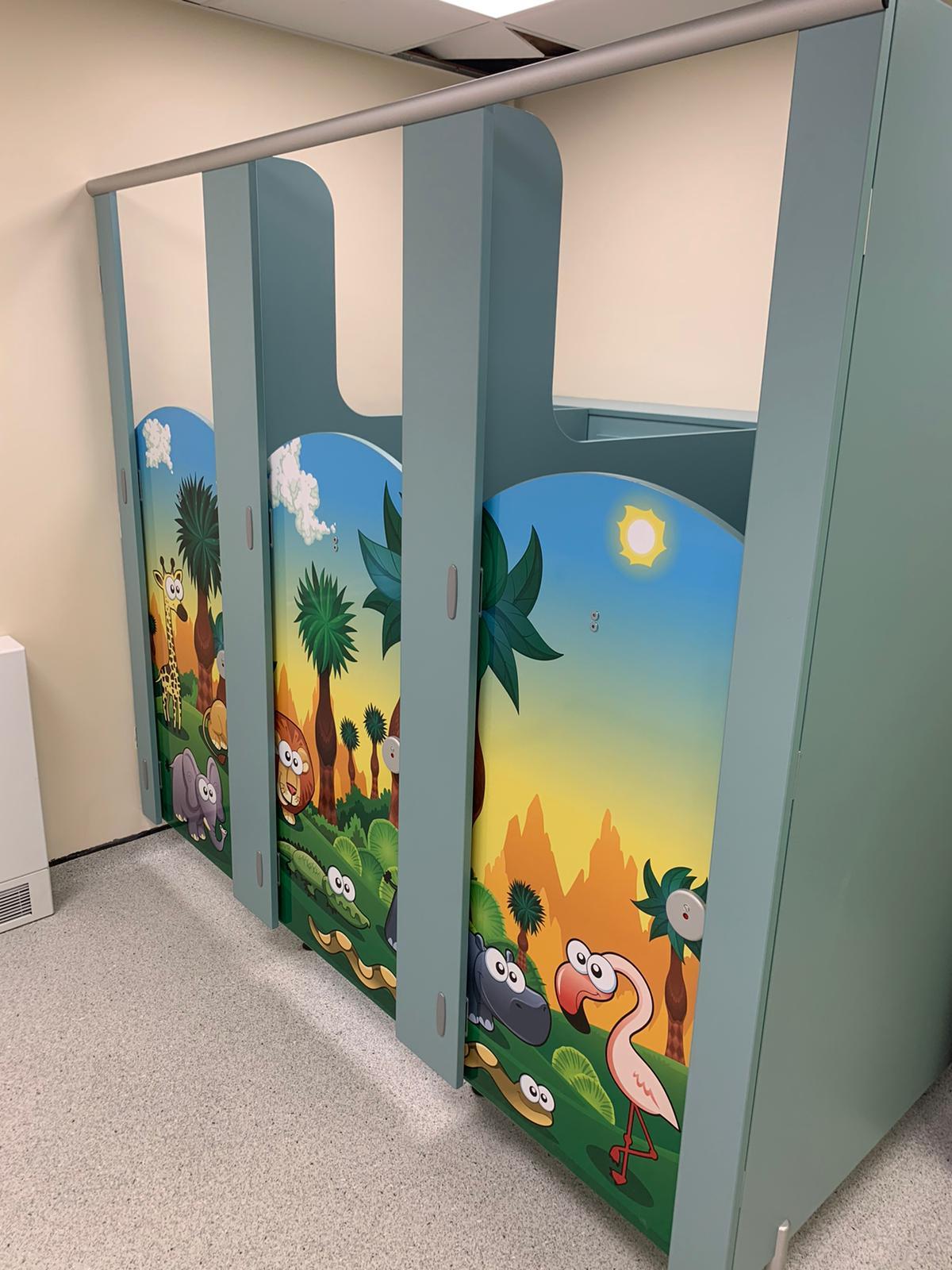 Jungle Animal Door Graphics