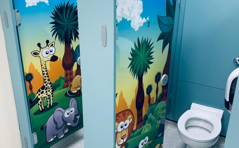 Jungle Animal Door Graphics