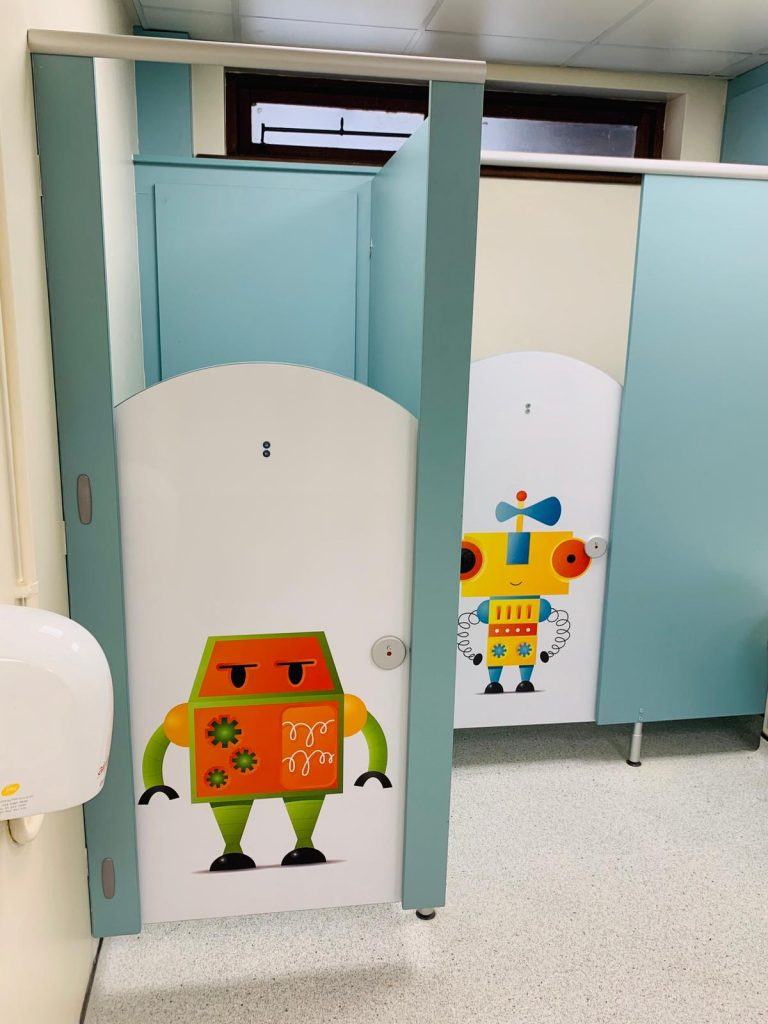 Robot Door Graphics