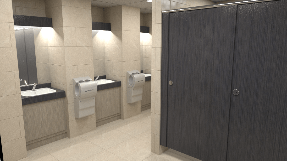 commercial washrooms